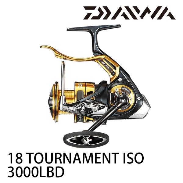 漁拓釣具 DAIWA 18 TOURNAMENT ISO 3000 LBD (手煞捲線器) #紅蟳