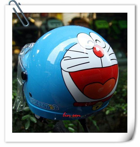 哆啦A夢安全帽,兒童安全帽,K856,K857,多#3/藍
