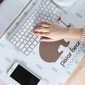 家用辦公室鼠標加熱保暖桌墊毯電腦暖手桌面發熱板電熱台板寫字台【韓國時尚週】