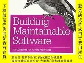 二手書博民逛書店Building罕見Maintainable Software, Java EditionY256260 Jo