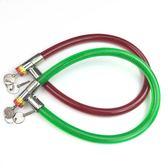 自行車鋼絲鎖環型鎖鋼纜鎖軟鎖鋼條鎖老款車鎖防盜鎖門鎖鍊條鎖  艾美時尚衣櫥