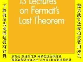 二手書博民逛書店13罕見Lectures On Fermat s Last Theorem-費馬最後定理13講Y436638