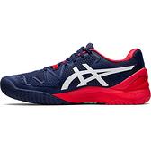 ASICS 20SSO 高階 男網球鞋 GEL-RESOLUTION 8 1041A079-400 贈運動襪【樂買網】