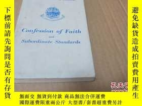 二手書博民逛書店confession罕見of faith and subordi