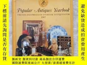 二手書博民逛書店古董年鑑罕見Popular Antiques Yearbook: