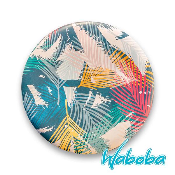 【Waboba】軟式飛盤/藝術家 系列2『棕櫚樹』302C01 戶外 出遊 沙灘 海岸 親子 遊戲 兒童 公園 飛盤