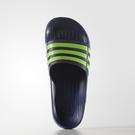 Adidas Duramo Slide 男鞋 女鞋 拖鞋 經典 防水 一體成型 深藍 螢光 深藍 【運動世界】 G95489