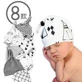 純棉嬰兒帽 北歐風寶寶胎帽 新生兒套頭尖尖帽 SK11711 好娃娃