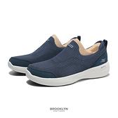 SKECHERS 健走鞋 GO WALK STABILITY 深藍 編織 固特異底 女 (布魯克林) 124611NVY