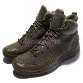 【四折特賣】Nike 靴子 Lupinek Flyknit 綠 軍綠 編織 抗水 飛線材質 休閒鞋 男鞋【PUMP306】 862505-300