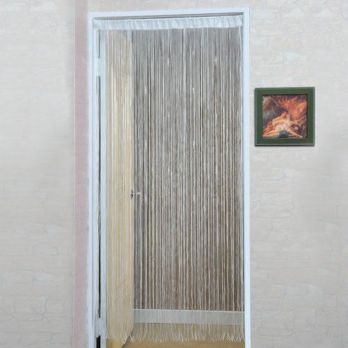 《家購網寢俱館》芸佳系列-粉色珠墜蜜絲簾(145x210)
