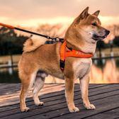 寵物項圈 狗狗牽引繩胸背帶背心式遛狗繩子小型中型犬泰迪柴犬項圈狗帶用品 igo 宜室家居
