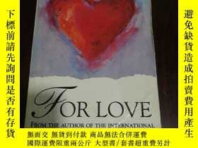 二手書博民逛書店英文原版罕見FOR LOVE SUE MILLERY254691