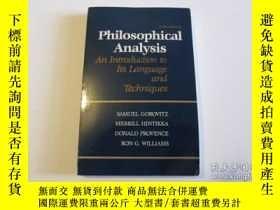 二手書博民逛書店Philosophical罕見AnalysisY255562 Samuel Gorovitz Mcgraw-h