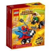 樂高積木LEGO 超級英雄 迷你車系列 76089 猩紅蜘蛛vs.睡魔人