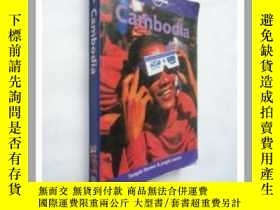 二手書博民逛書店(Lonely罕見Planet)Cambodia《柬埔寨導覽》【