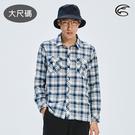 ADISI 男N66 四面彈透氣速乾長袖格紋襯衫AL2011104-1 (3XL) 大尺碼 / 城市綠洲 (四向彈性、防曬、速乾)
