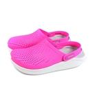 Crocs Lite Ride 休閒鞋 涼鞋 防水 桃紅色 男女鞋 204592-6QV no035