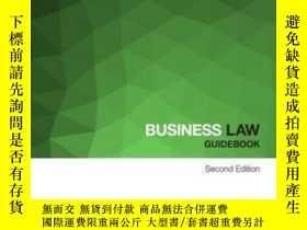 二手書博民逛書店Business罕見Law Guidebook (law Guidebooks)-商法指南(法律指南)Y436