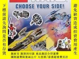 二手書博民逛書店LEGO罕見STAR WARS CHOOSE YOUR SIDE 樂高星球大戰選擇你的立場 2本合售Y2700