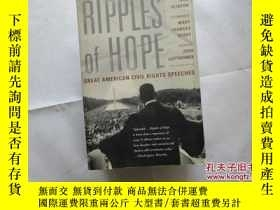 二手書博民逛書店RIPPLES罕見OF HOPE:GREAT AMERICAN
