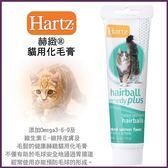 *King Wang *Hartz 赫緻《貓用化毛膏-鮭魚口味》能預防毛球的形成70g