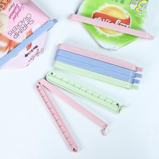 保鮮封口夾(3入) 食品袋 密封夾 食物 保鮮夾子 塑料袋 零食 保鮮夾 居家  【M165-1】MY COLOR