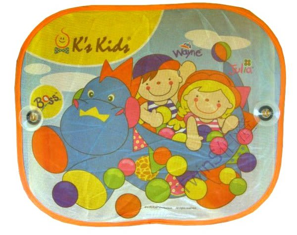 K s Kids - 可愛汽車側窗遮陽板【TwinS伯澄】