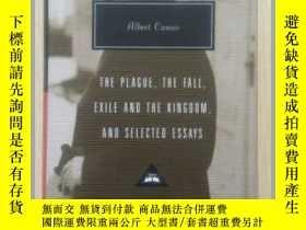 二手書博民逛書店The罕見Plague, The Fall, Exile and the Kingdom, and Selecte