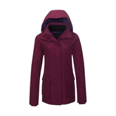 [Mountneer] 山林 (女) 防水保暖羽絨外套 紫紅 (22J16-45)