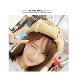 貝雷帽 毛球 麂皮絨 保暖 八角帽 貝雷帽【QI1806】 icoca