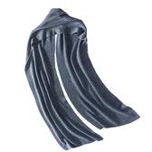 羊毛圍巾-經典純色針織加長男女披肩5色73wh47【時尚巴黎】