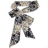 布條腰帶女士雪紡印花布帶休閒百搭打結褲帶連身裙子裝飾腰封 居享優品