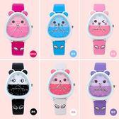 兒童手錶女孩女生手錶小學生表可愛卡通表韓國女童寶寶防水電子表