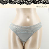 Chasney Beauty-漣漪S-L水波紋蕾絲丁褲(天藍)