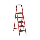 烤漆五層步梯-紅+黑(18SP/408-...