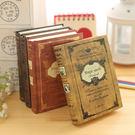 歐式復古風筆記本文具日韓國創意小號口袋記...