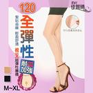 【衣襪酷】全彈性 透膚褲襪 耐勾加強 棉叉絲襪 台灣製 佳賀晴