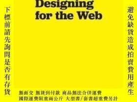 二手書博民逛書店A罕見Practical Guide To Designing For The WebY256260 Mark