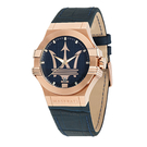 MASERATI 瑪莎拉蒂 R8851108027 經典海神logo 帥氣深藍錶款 錶現精品 原廠正貨