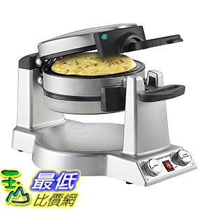 [106美國直購] Cuisinart WAF-B50 Breakfast Express Waffle/Omelet Maker, Stainless Steel 鬆餅機
