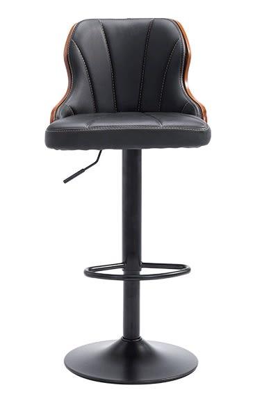 【南洋風休閒傢俱】吧台椅系列-曲木吧台椅 靠背皮吧椅 復古鐵藝吧台椅 咖啡廳酒吧創意吧台椅