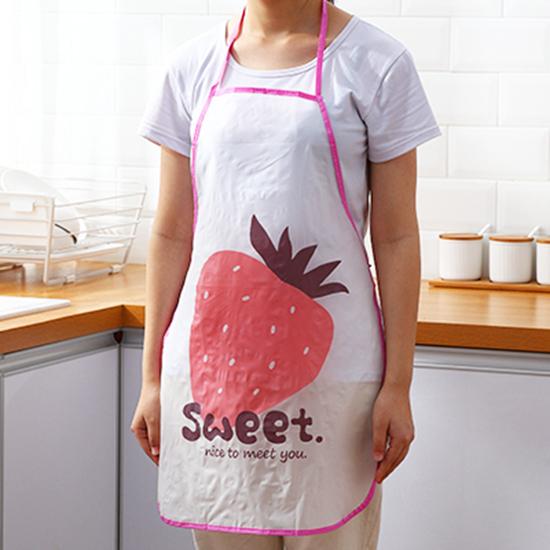 工作服 半身圍裙 兒童圍裙 廚房 防水 繪畫 料理 咖啡廳 烘焙 居家 水果 掛脖 圍裙 【L163】MY COLOR