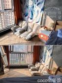 懶人沙發榻榻米雙人網紅日式小戶型臥室小沙發折疊地上休閒懶人椅 【小美日記】