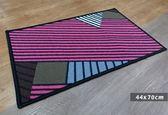 范登伯格-埃及進口防滑優質踏墊-現代幾合44x70cm