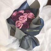 創意玫瑰香皂花畢業花束生日禮物