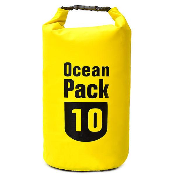10公升防水包10L防水袋手提袋手提包.戶外沙灘玩水戲水潛水.浮潛溯溪泛舟旅遊用品推薦哪裡買ptt