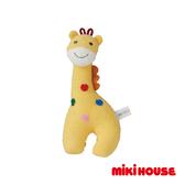 MIKI HOUSE BABY 日本製 長頸鹿鈴噹玩具
