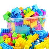 積木益智玩具兒童顆粒塑料益智拼搭拼【極簡生活館】