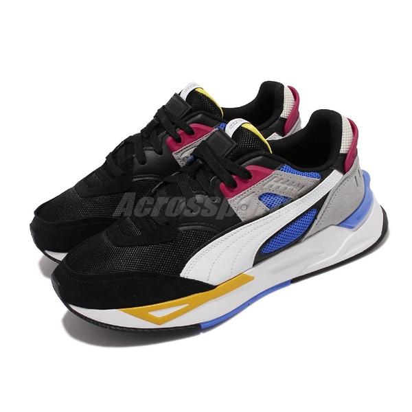 Puma 休閒鞋 Mirage Sport Remix 黑 彩 男鞋 復古 老爹鞋【ACS】 381051-01